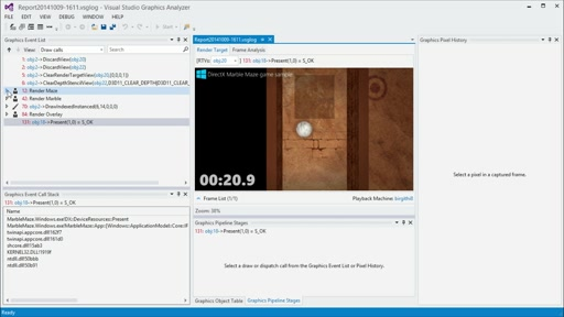 Quick Start Challenge: Graphics Debugging with Microsoft DirectX Part 2