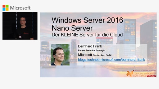 Windows Server 2016: Nano Server - Der KLEINE Server für die Cloud