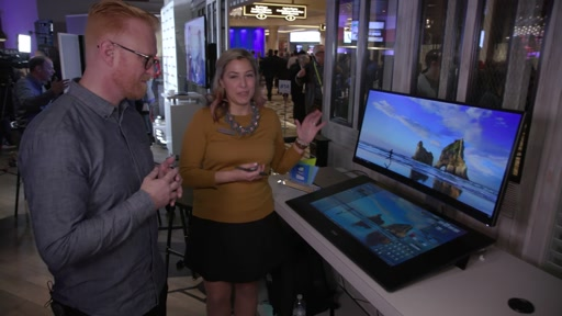 Dell Shows Off Canvas - A Horizontal Touch Display for Drawing and Creation