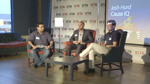 (Part 1) Fireside Chat with start-ups SimpleTix, Cause IQ and Pelonkey