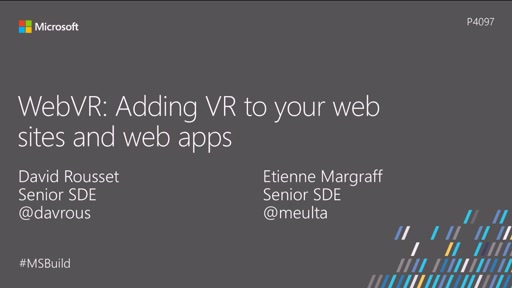 WebVR: Adding VR to your websites and web apps
