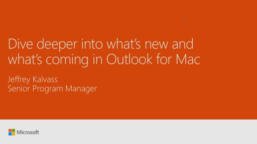 Dive deeper into what's new and what's coming in Outlook for Mac