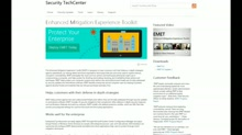 Taste of Premier: Protect Your Enterprise with the Enhanced Mitigation Experience Toolkit