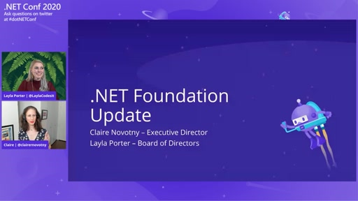 ".NET Foundation ""State of the Foundation"""