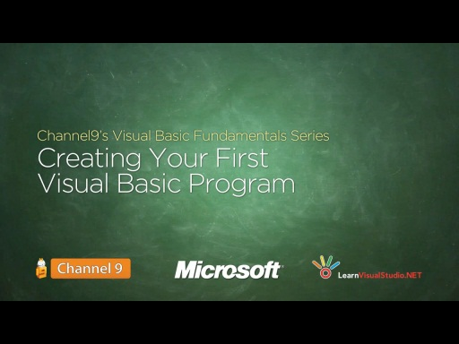 Creating Your First Visual Basic Program - 02