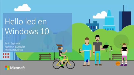 Hola luces en Windows 10 IoT Core