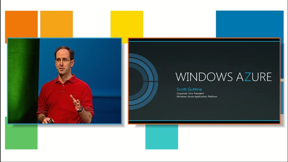 Scott Guthrie on Windows Azure