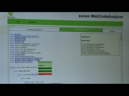 CeBIT 2011 - GraphDB und WebCode Analyzer