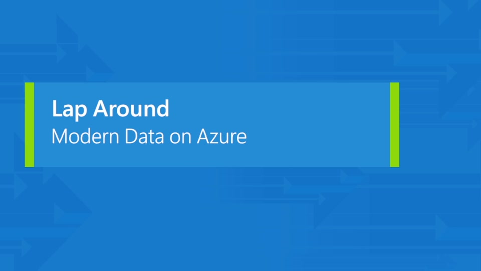 Azure data and analytics platform