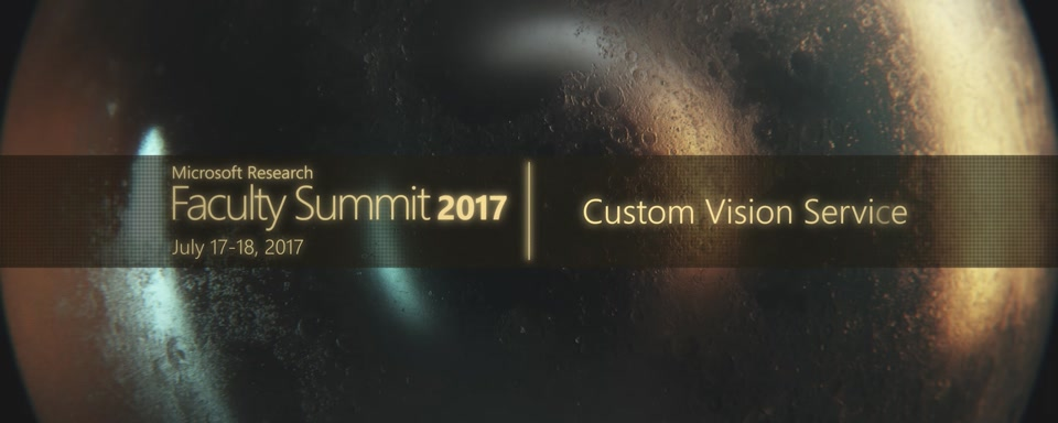 Video Abstract: Custom Vision Service