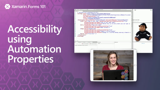 Xamarin.Forms 101: Accessibility using Automation Properties