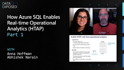 How Azure SQL Enables Real-time Operational Analytics (HTAP) - Part 1