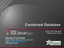O que é o Contained Database?