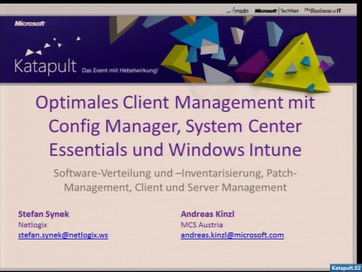 Katapult02 - Optimales Client Management