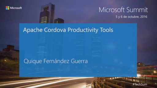 T2 - Mobile apps & Cross - Platform: Apache Cordova productivity tools