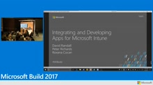 Integrating applications with Microsoft Intune