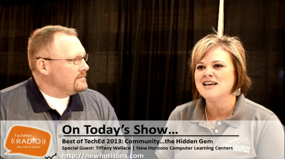 TechNet Radio: Best of TechEd 2013 - Community...the Hidden Gem