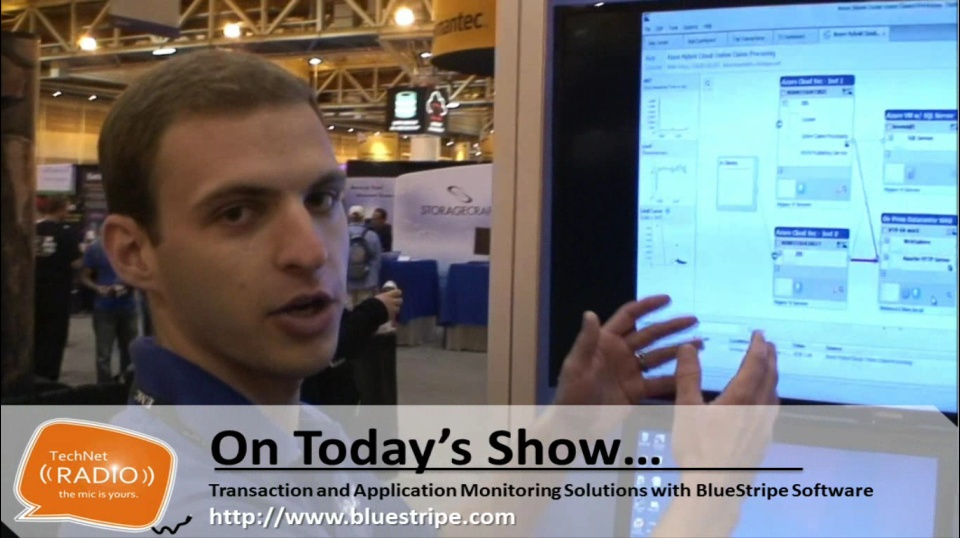 TechNet Radio: Cloud Innovators - Transaction and Application Monitoring Solutions with BlueStripe Software