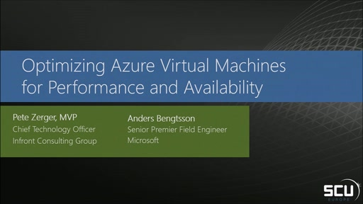 Optimize Azure Virtual Machines for performance and availability