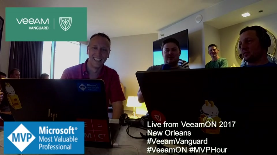 Episode 67 - Interview with John Nicholson at VeeamON 2017