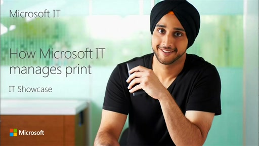 How Microsoft IT manages Print
