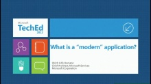 Modern Application Design - Cloud Patterns for Application Architects