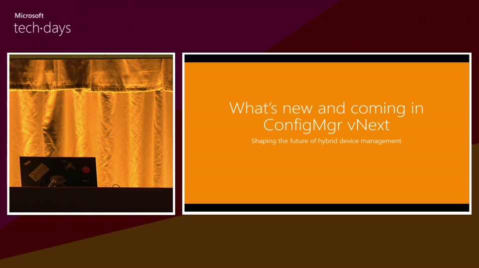 What's new and coming in ConfigMgr V.Next (Shaping the future of hybrid device management)
