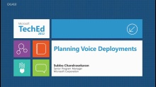 Lync 2010: Planning Voice Deployments