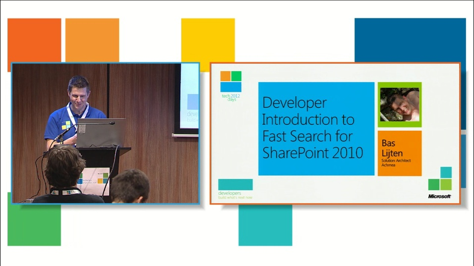 Developer introduction to Fast Search for SharePoint