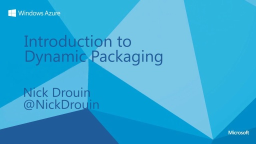 Introduction to Dynamic Packaging with Windows Azure Media Services