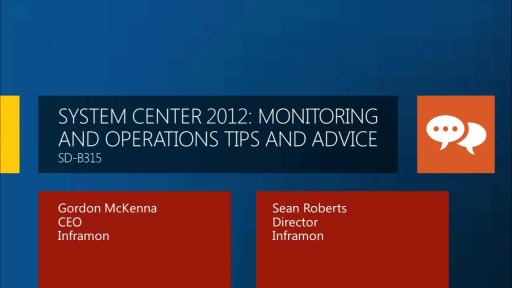 System Center 2012: Monitoring and Operations Tips and Advice