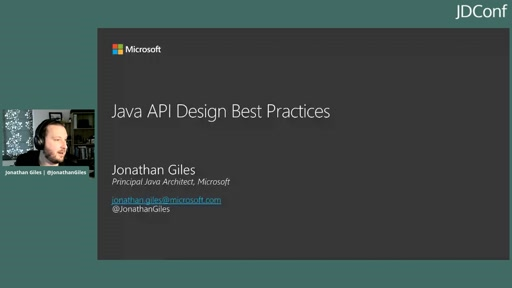 Building Great Java APIs