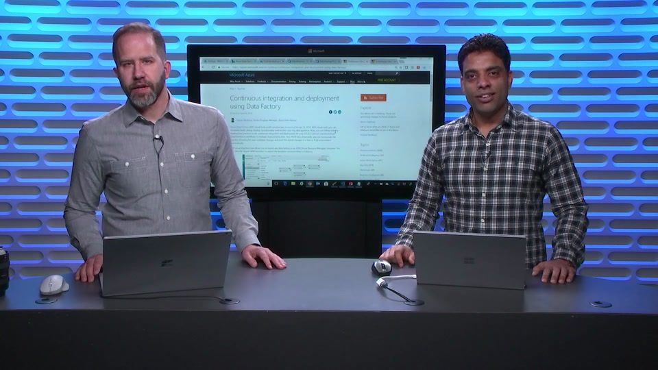 Continuous integration and deployment using Azure Data Factory
