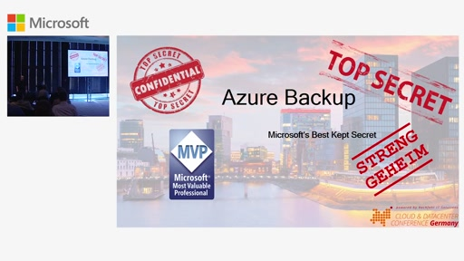 Azure Backup - Microsoft's Best Kept Secret