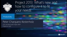 Project 2013: What's new and how to configure it to fit your needs