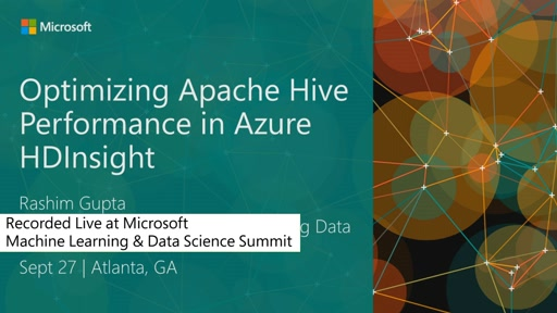 Optimizing Apache Hive Performance in HDInsight