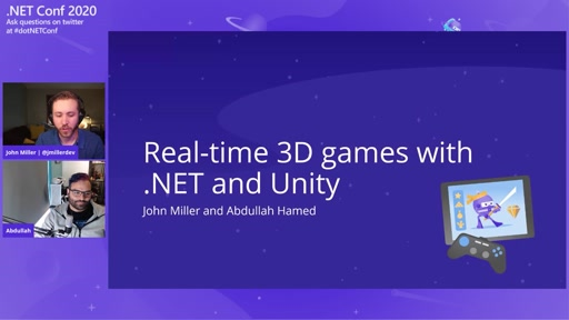Real-time 3D Games with .NET and Unity