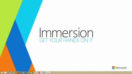 Introduction and Overview of Application Innovation Immersion