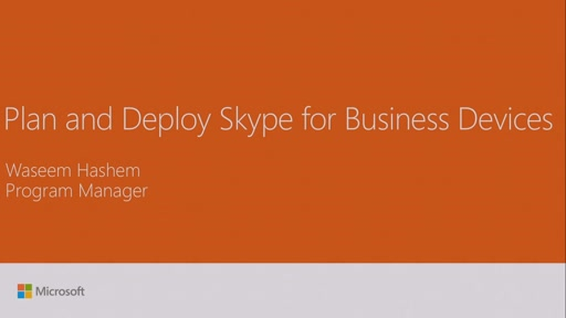 Plan and deploy Skype for Business Voice Devices