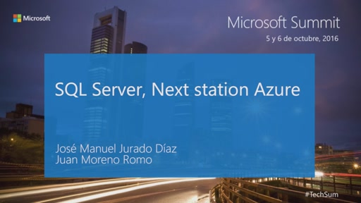 T4 - Cloud Infrastucture: SQL Server, Next station Azure