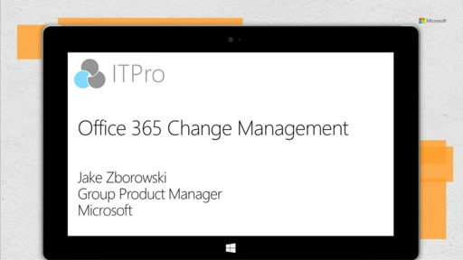 Office 365 Change Management