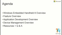Introducing Windows Embedded Handheld 8
