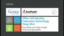 Office 365 Identity Federation Technology Deep-Dive