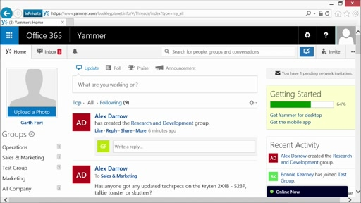 Yammer Administration and Power User Best Practices: (06) Administration Deep Dive