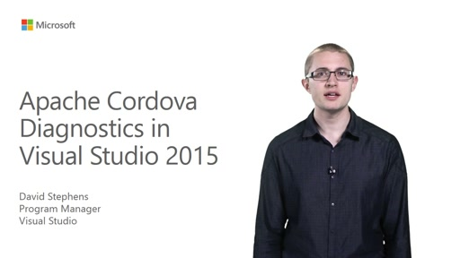 Visual Studio 2015 Diagnostic Tools for Apache Cordova