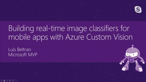 Building real-time image classifiers for mobile apps with Azure Custom Vision