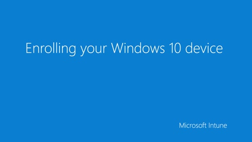 Windows Enrollment