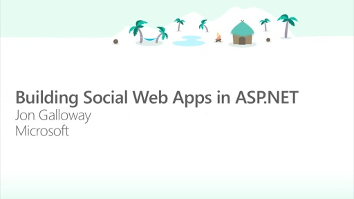 Building Social Web Apps in ASP.NET