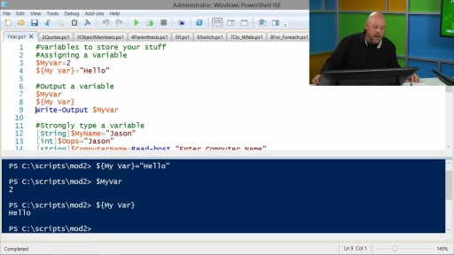 Advanced Tools & Scripting with PowerShell 3.0: (02) PowerShell's Scripting Language