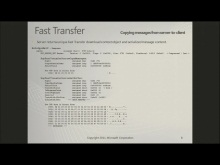 Exchange Fast Transfer ICS – MS-OXCFXICS